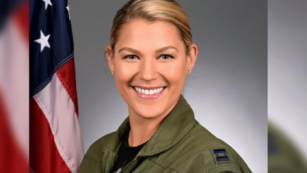 "Captain Zoe Kotnik will continue to serve in ""non-supervisory role"". Picture: US Air Force"