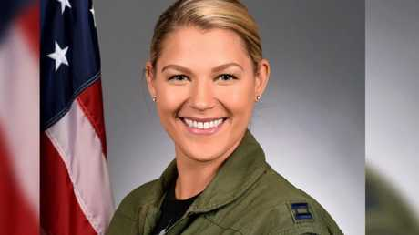 """Captain Zoe Kotnik will continue to serve in """"non-supervisory role"""". Picture: US Air Force"""