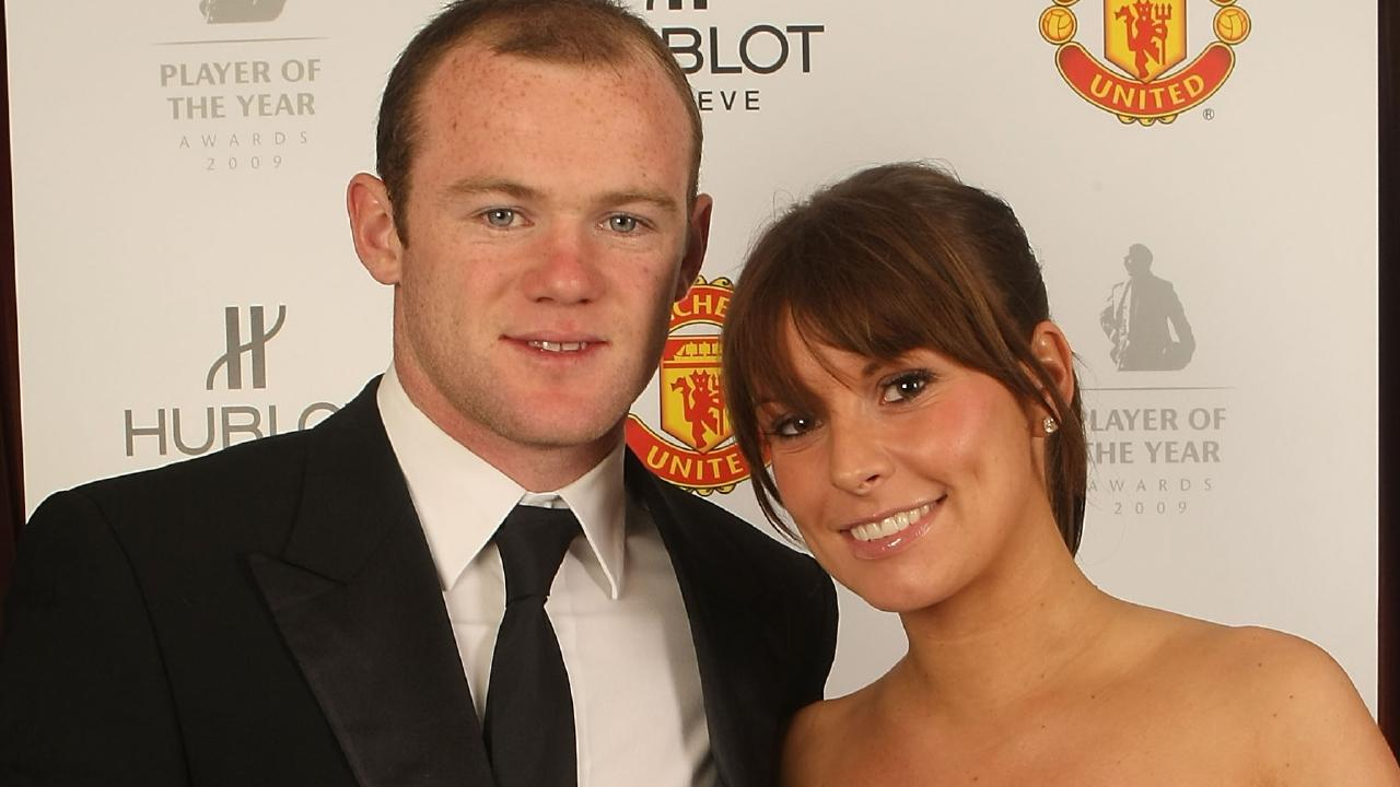 Wayne Rooney and his wife Coleen have endured some rough patches. Picture: Getty Images
