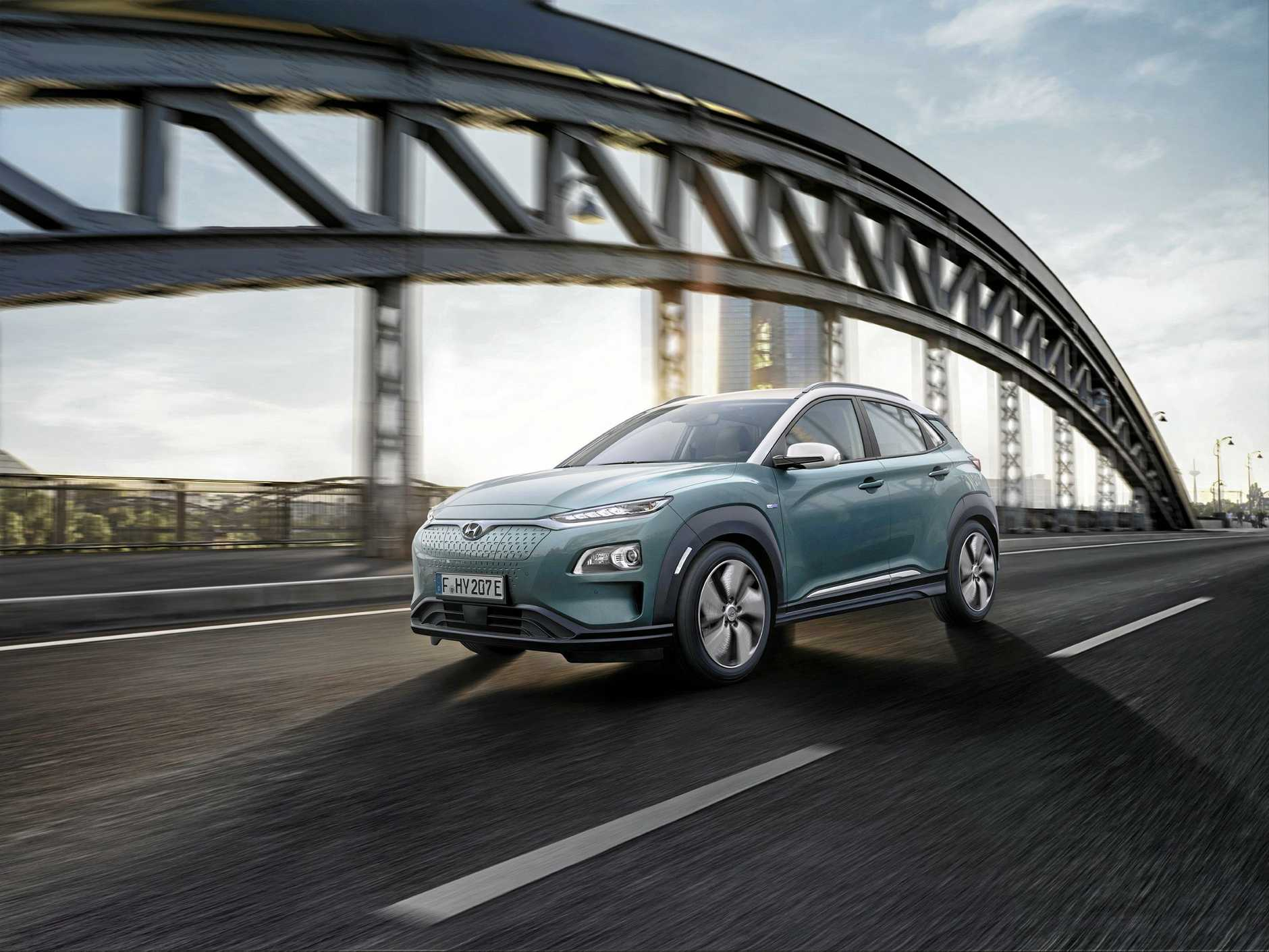 The Hyundai Kona Electric will launch in March.