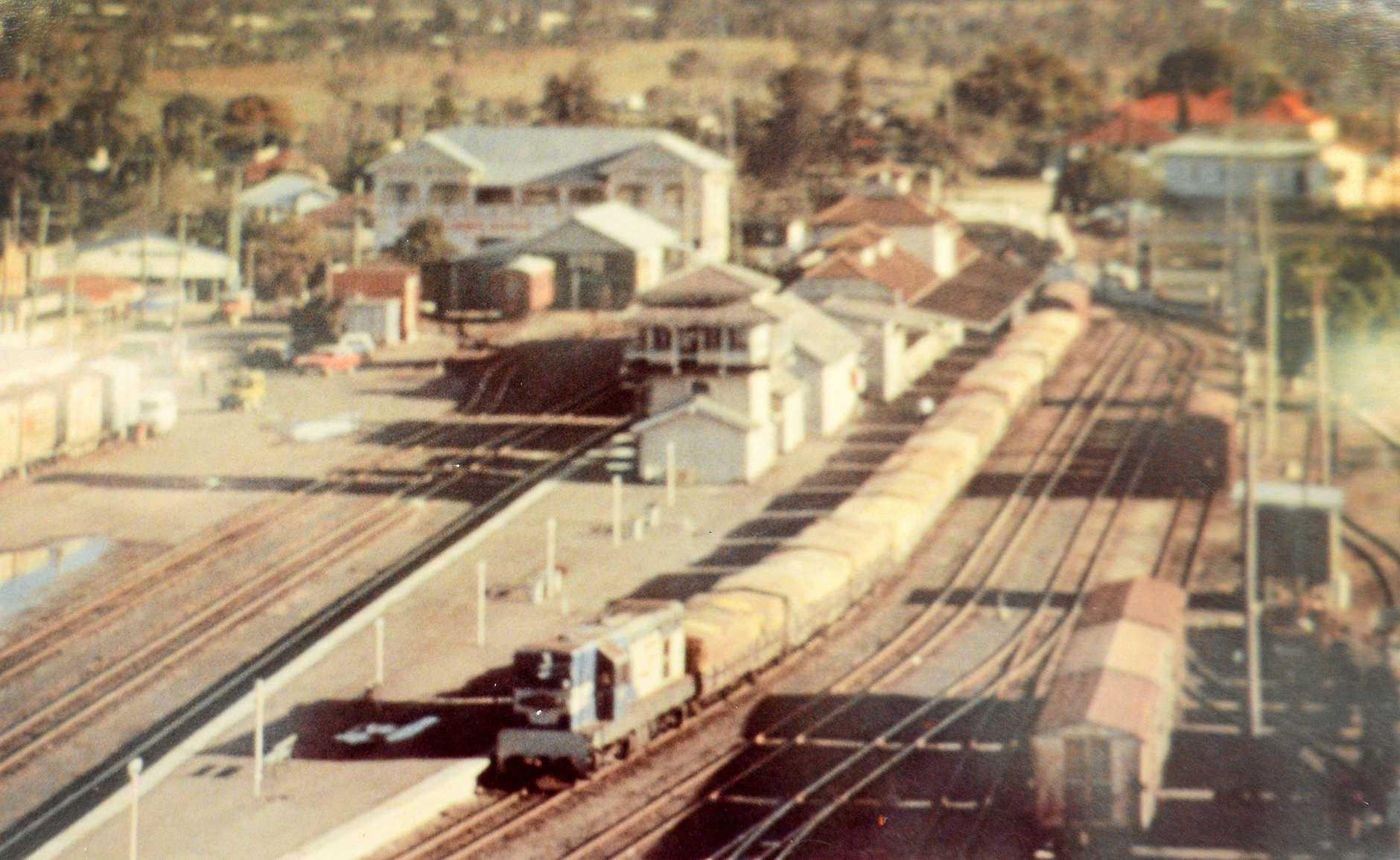 Gympie Railway Station 1983.