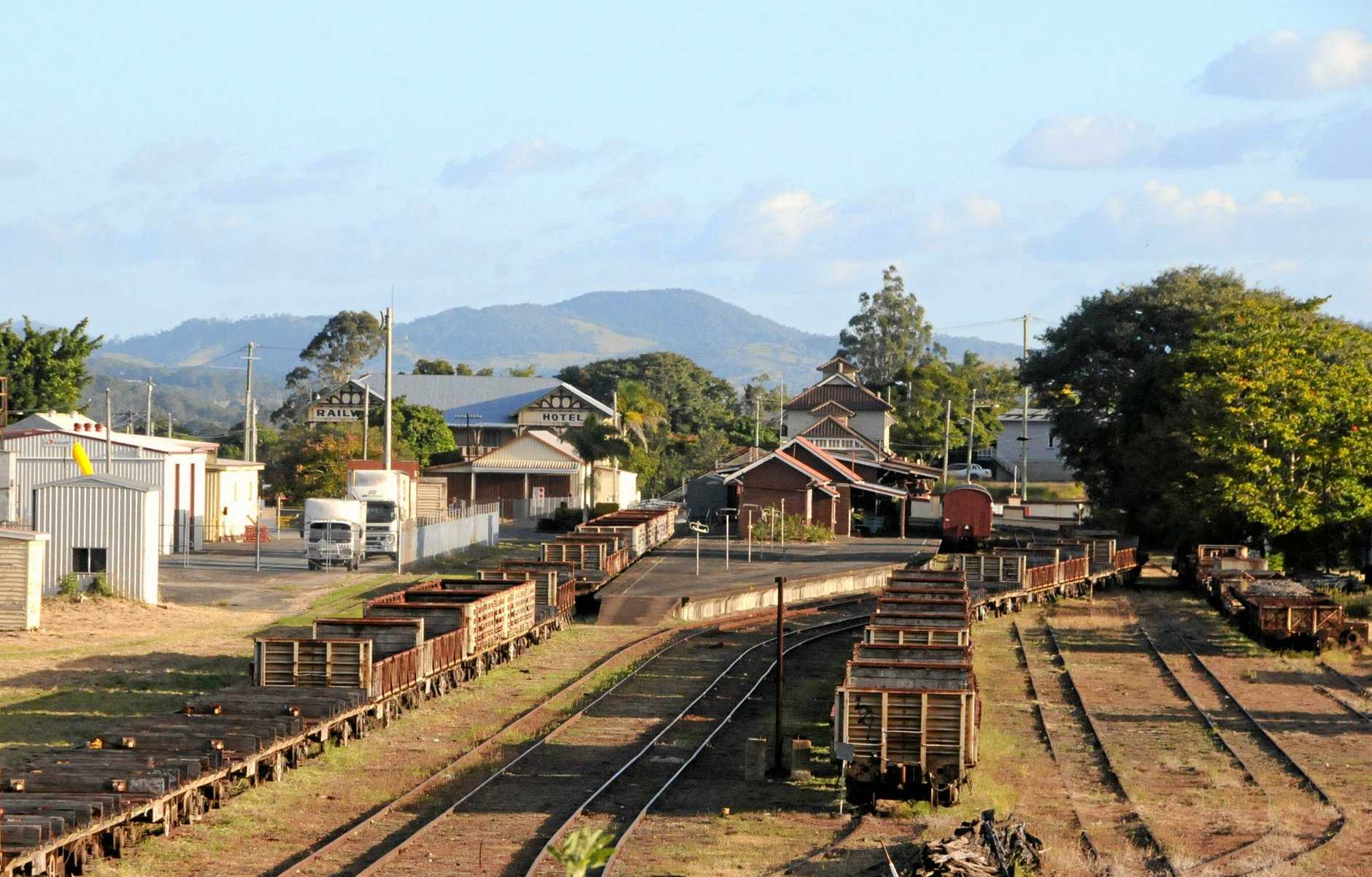 Contributed.   Mary Valley Heritage Railway, Old Gympie Station 2013.
