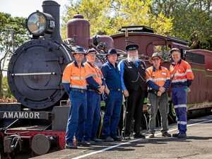 Rattler revives interest in old Gympie station