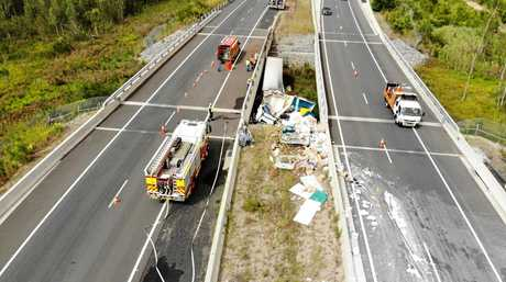 A 38-year-old Queensland truck driver was killed in this morning's fatal crash on the Pacific Highway at Raleigh.