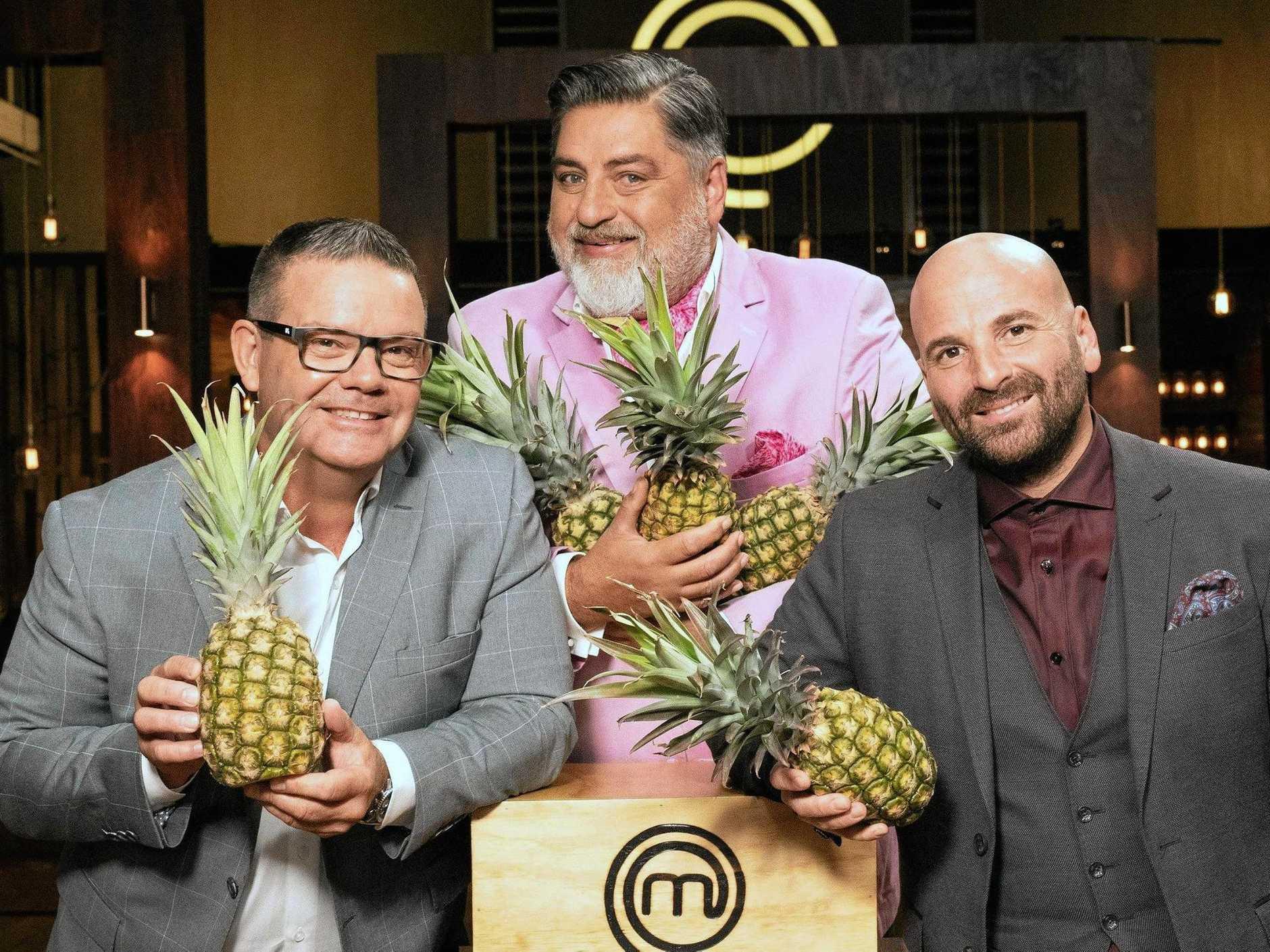 MasterChef judges Gary Mehigan, Matt Preston and George Calombaris are finally filming in Queensland after 10 seasons.