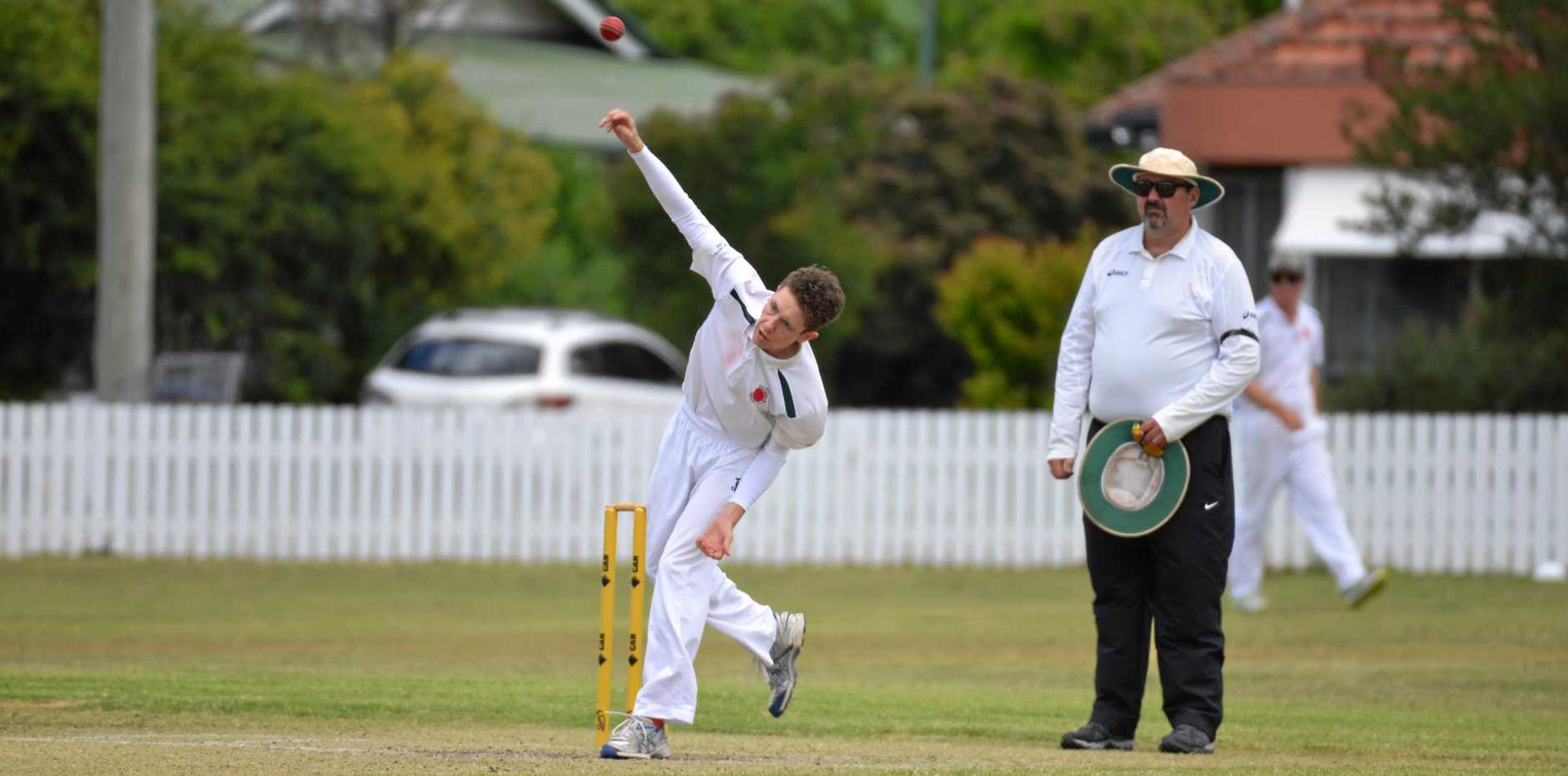 SKIPPER: Allora spinner Sean Bryson has a six-wicket bag in representative cricket this season and is in the Darling Downs Schoolboys under-19 team.