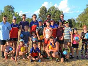 Brisbane Lions leave their mark on Western Downs