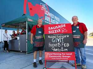 Bunnings Grafton sausage sizzle for disaster relief