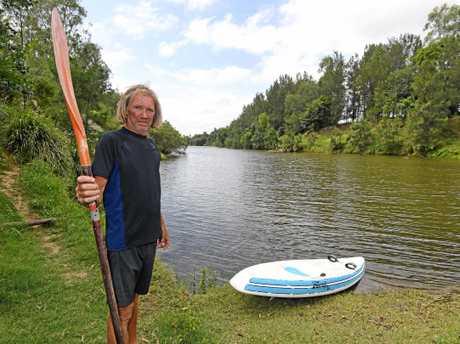 Gympie avid croc spotter/hunter  Geoffrey Bell