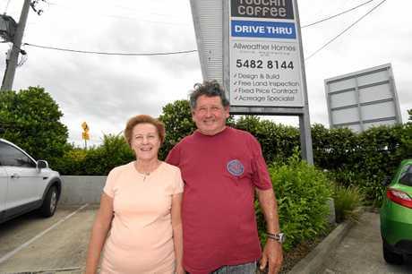 Debbie and David Weatherhog.
