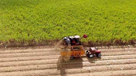 Rex Stroppiana has sold his Mackay sugar farm to Graeme Blackburn.