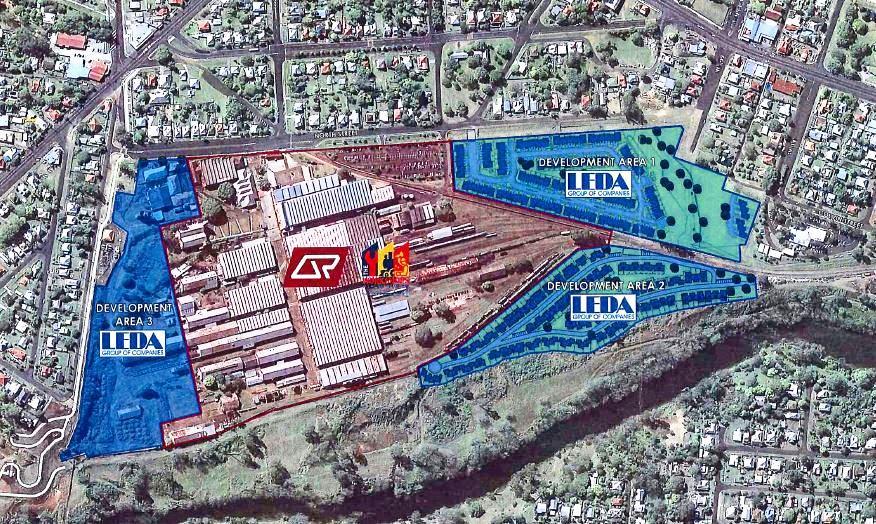 Leda's plans for development at North Ipswich.