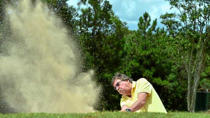 TIGHT SPOT: Secretary Manager of Nambour Golf Club Steve McMahon says his club is suffering from diminished memberships.
