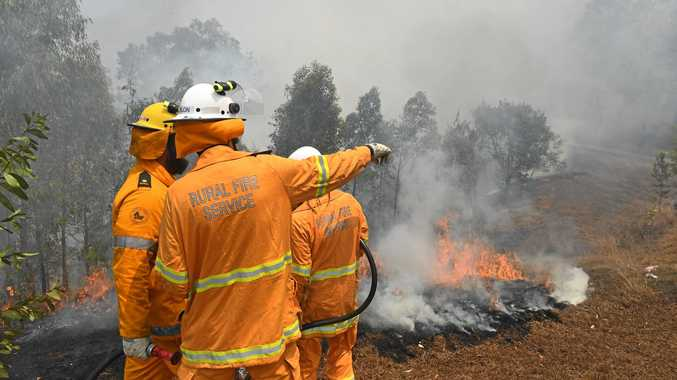 'We're not out of the woods': Fire emergency at Tabulam