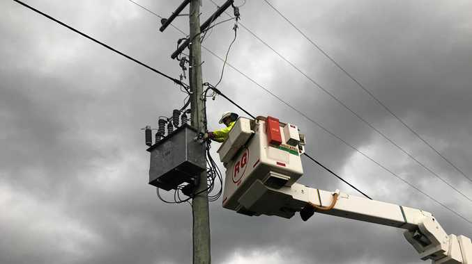 TC Oma: 1334 Gympie region homes without power