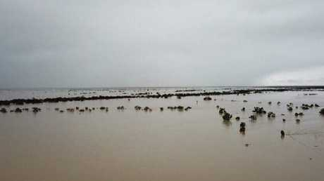 Floodwaters that have created chaos in Queensland's outback are doing the same in Gulf Country. Picture: Rae Stretton
