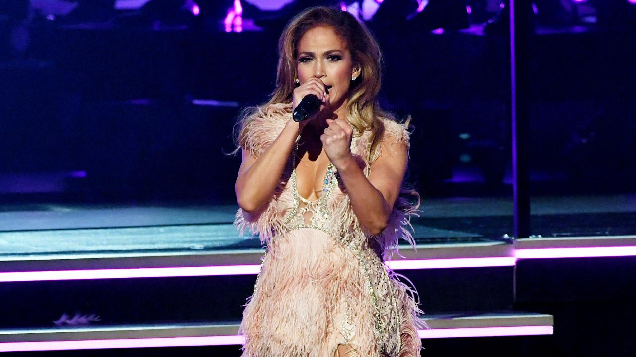 JLo dazzled at the Grammys this week. Picture: Getty Images