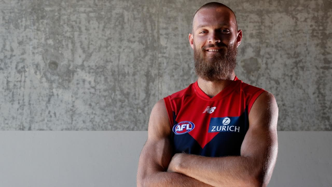 Max Gawn is ready for another huge season for the Demons. Picture: AFL Media