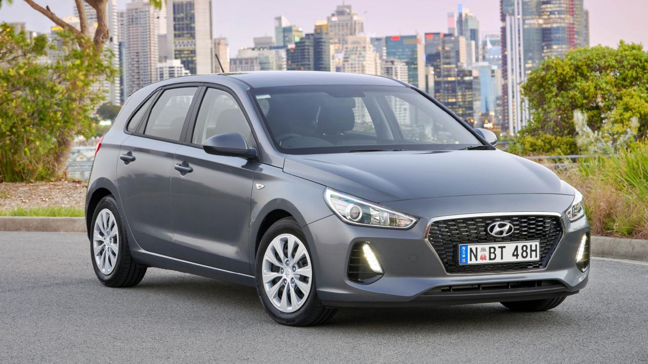 You can get a base Hyundai i30 for a smidgen over $20k drive-away.