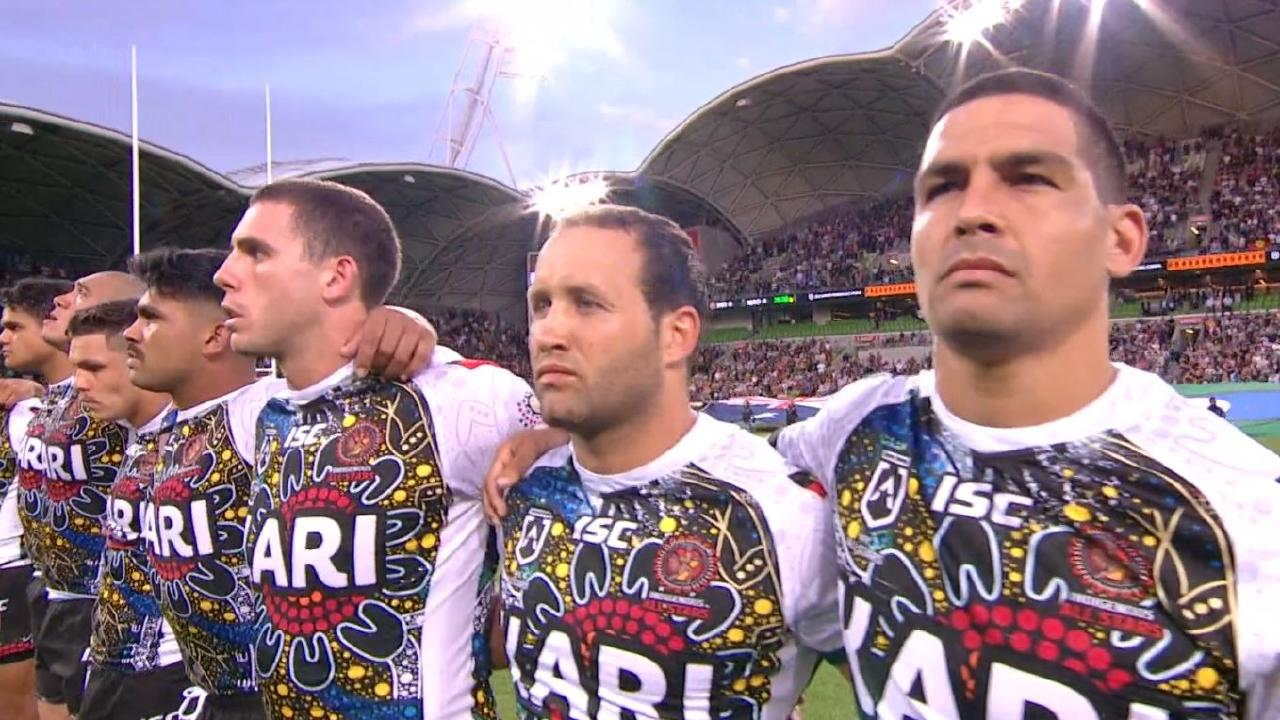 Australian anthem couldn't get the Indigenous All-Stars to sing.
