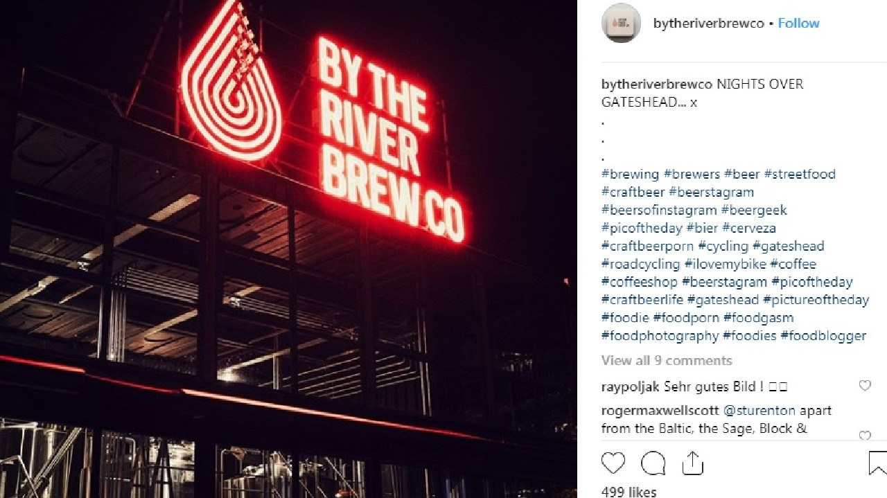 The company's reply has gone viral. Picture: Instagram @bytheriverbrewco