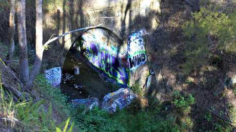 The old abandoned Ernest Junction Railway Tunnel.