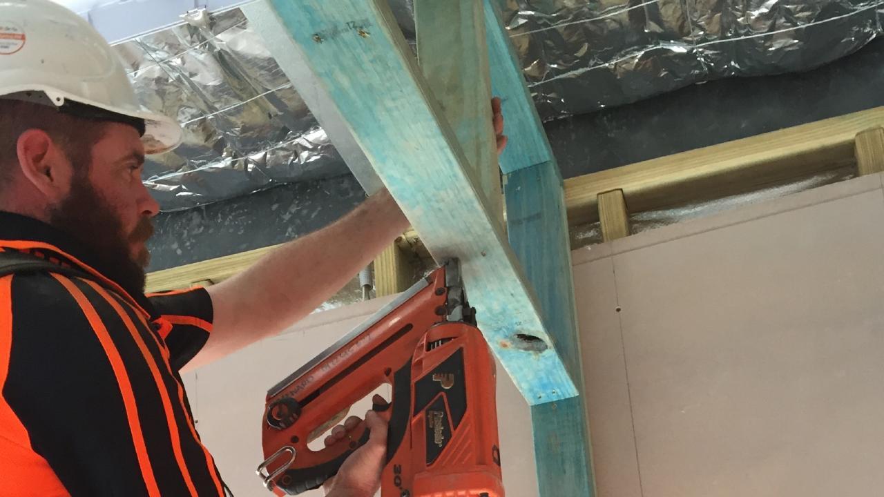Wayne Seward has $3000 worth of tools stolen this morning.