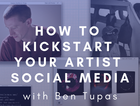 Join Ben Tupas as he guides you through understanding platforms like Instagram and Facebook and how to make them work for your artist practice.
