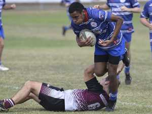 Peter Tagituimua for USQ White against Southern Bay 2