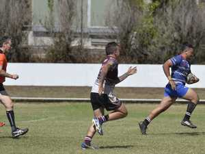 Kelpi Matapa for USQ White against Southern Bay 2 in