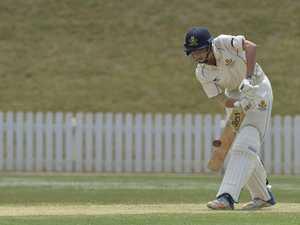 Morgan Galvin batting for Toowoomba Grammar School