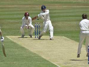 Matthew Watson batting for Toowoomba Grammar School