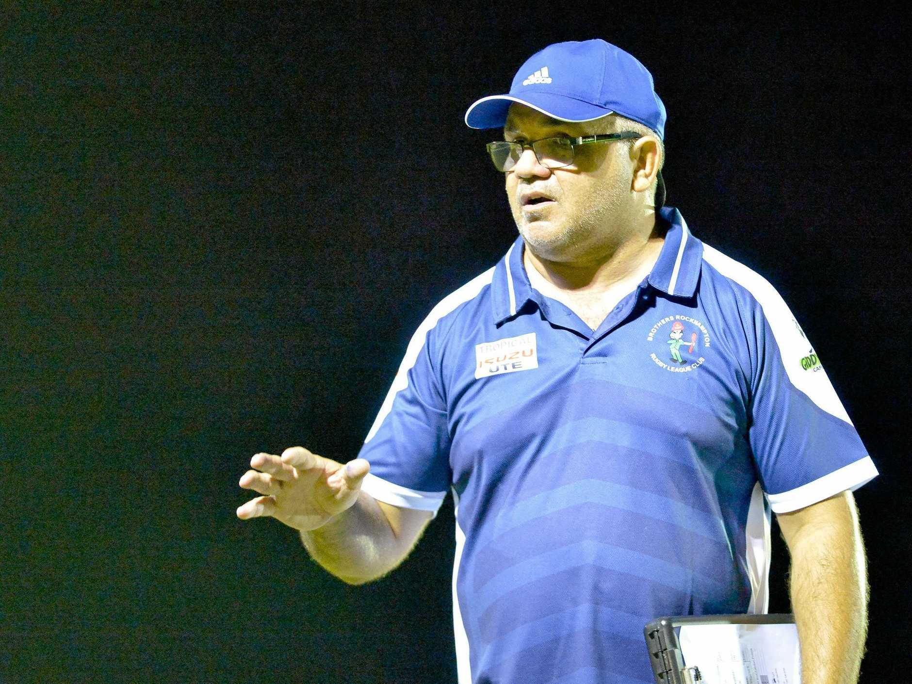 Rockhampton Brothers coach Scott Munns: