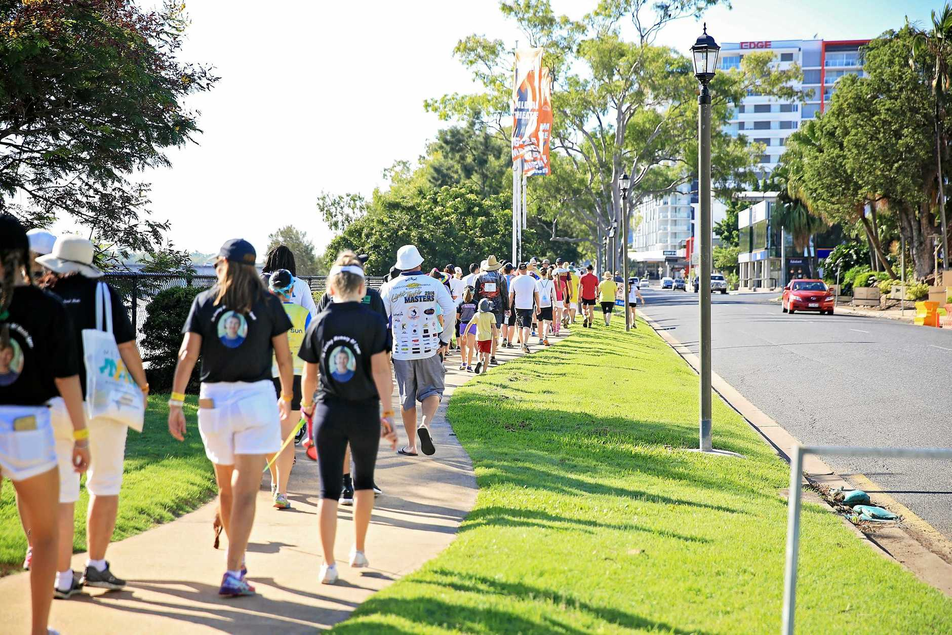 Last year's first ever Rockhampton Melanoma March was a huge success.