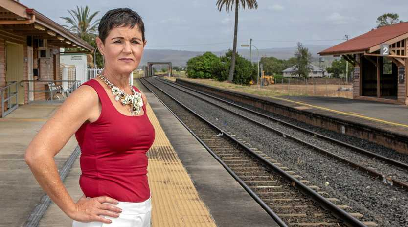 EXCITING TIMES: Lockyer Valley Mayor Tanya Milligan said the Lockyer Valley community needed a proposed rail link between Toowoomba and Ipswich.