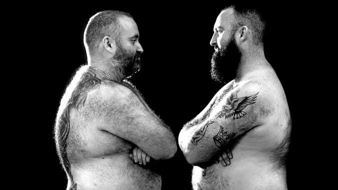 IT'S ON: Rockhampton brothers Jon (left) and Patty Sharvin will step into the ring for a charity boxing match on February 23.