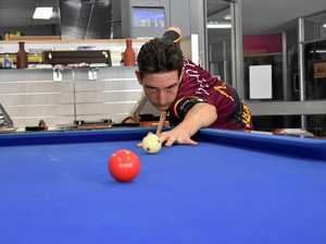 Joe McClintock bring's Gympie 8-Ball to the world