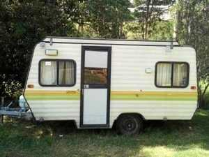 Camper van theft puts Gympie crooks up the creek