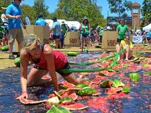 Slip, dip and pull - 2019 Melon Festival