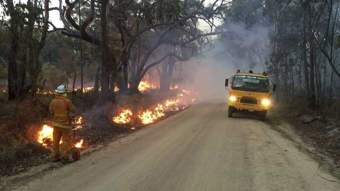 BUSHFIRE: Fireys to work throughout night containing blaze