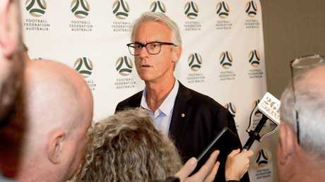 David Gallop has backed the decision to sack Alen Stajcic. Photo: AAP