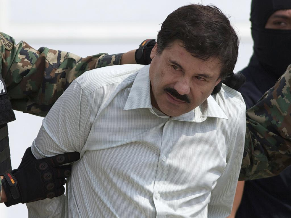 Guzman was convicted on charges relating to smuggling $14 billion of cocaine into the United States. Picture: Eduardo Verdugo/AP