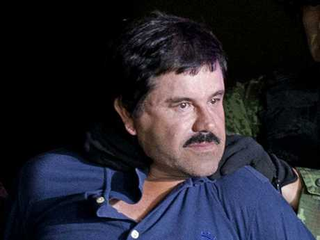 He's said to have spent more than a quarter of a century trafficking a record 200 tons of cocaine into the US. Picture: Eduardo Verdugo/AP