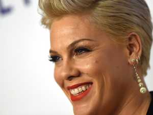 Pink admits to slashing husband's tyres