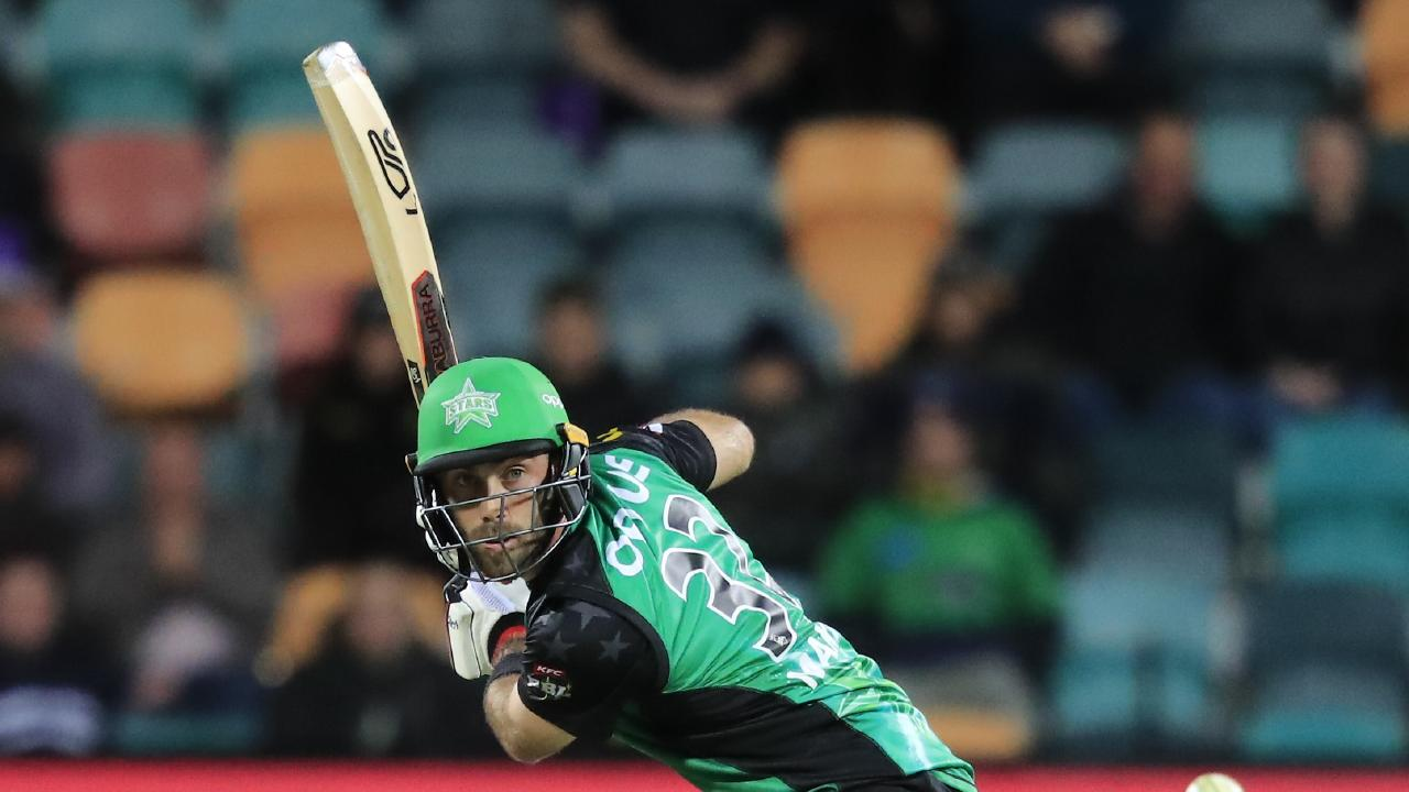 The Stars' Glenn Maxwell has been superb in the past two games. Picture: AAP