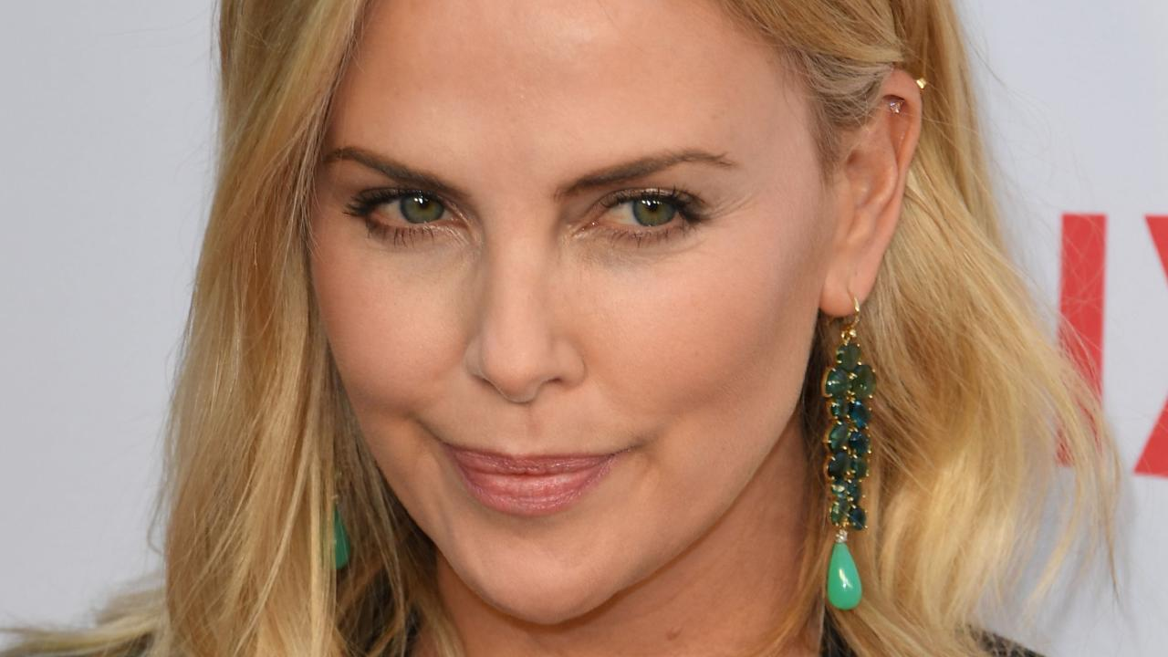 Charlize Theron has declared that she is single amid rumours she is dating Brad Pitt. Picture: AFP