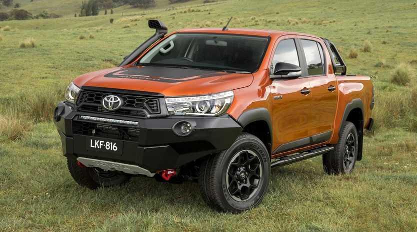 Toyota's best-selling HiLux does not feature autonomous emergency braking.