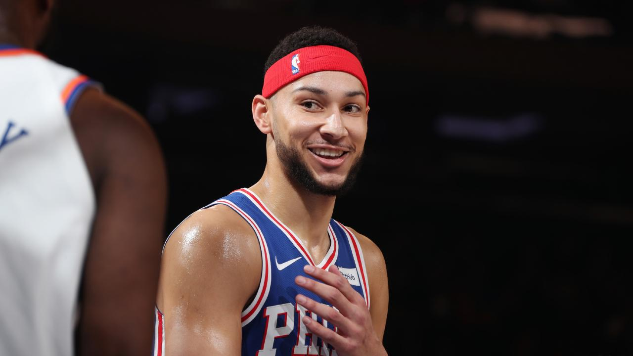 Ben Simmons is loving his time in the NBA. Picture: Getty Images