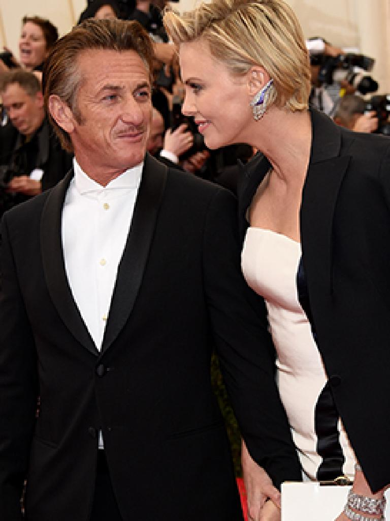 Charlize Theron and Sean Penn had a tumultuous relationship. Picture: Getty