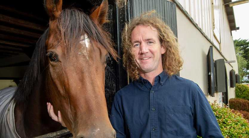 Ciaron Maher hopes to snare a Group 1 win with Loving Gaby in the Champagne Stakes. Picture: Jay Town